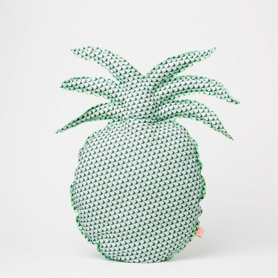 Blanc-Fluo-Coussin-ananas-Pineapple