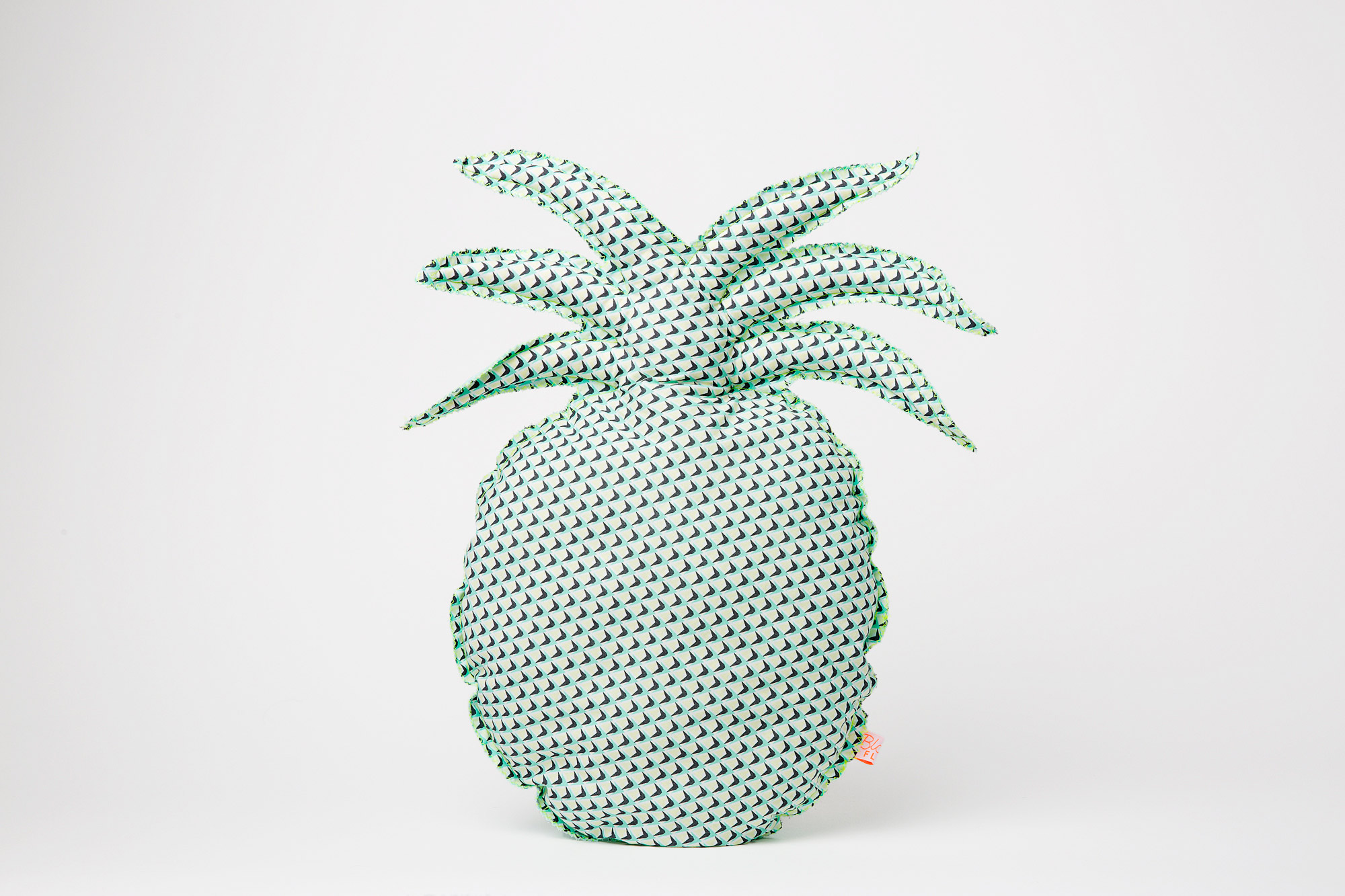 Coussin ananas pineapple blanc fluo - Differente forme de coussin ...