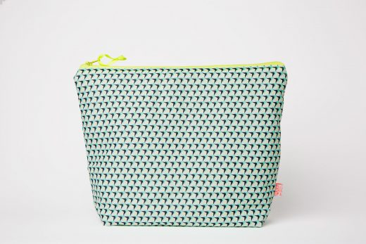 Blanc-Fluo-Trousse-Toilette-Pineapple