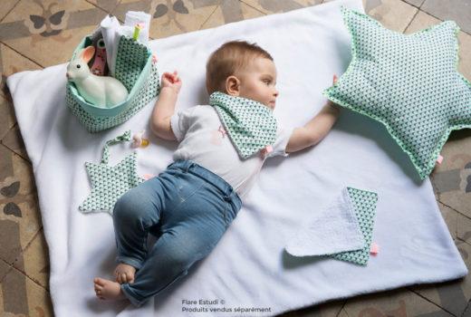 Accessoires pour bébés Blanc Fluo